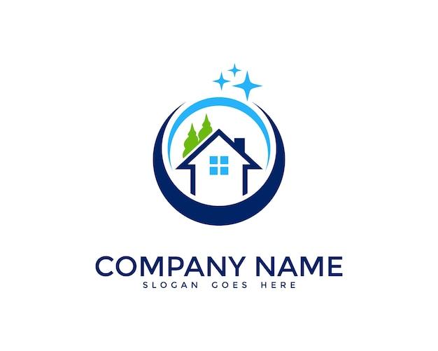 Limpieza de casas dise o de logotipos descargar vectores - Limpiezas de casas ...