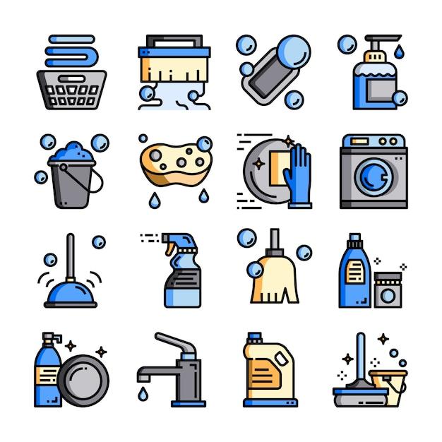 Limpieza-higiene Vector Premium