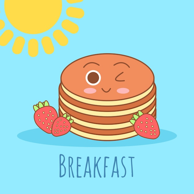 Linda y sencilla ilustración de marco con tortilla, aceite de oliva, huevos, leche, sal, cebolla, champiñones. vector gratuito