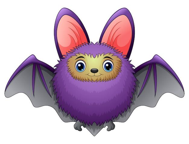 Lindo Murciélago De Dibujos Animados Descargar Vectores Premium