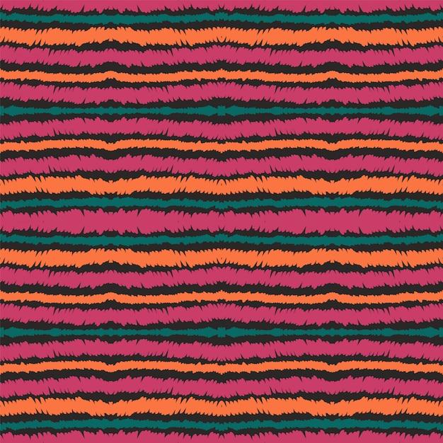 Línea azul vector de patrones sin fisuras. raya de papel mexicana Vector Premium