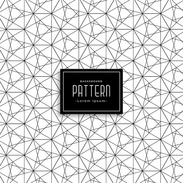 Línea de malla abstracta patrón de estilo web | Descargar Vectores ...