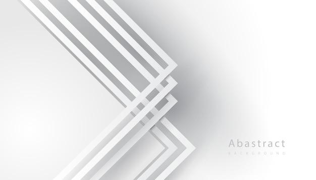 Línea de rayas blancas dobladas vector gratuito