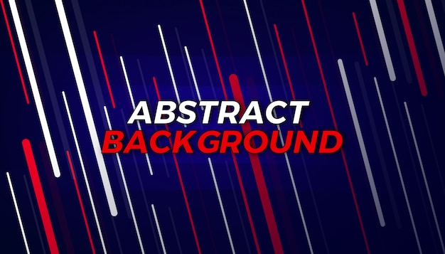 Líneas abstractas fluyen diseño de fondo Vector Premium