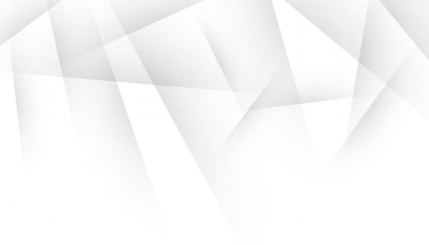 Líneas de sombra abstractas sobre diseño blanco vector gratuito