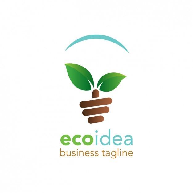 Logo Amigable Con El Medio Ambiente Descargar Vectores