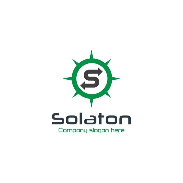 Logo circular verde de empresa descargar vectores gratis for Logo de empresa gratis