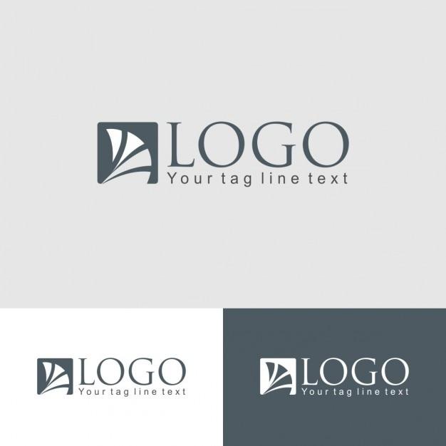 Logo corporativo de empresa descargar vectores gratis for Logo de empresa gratis
