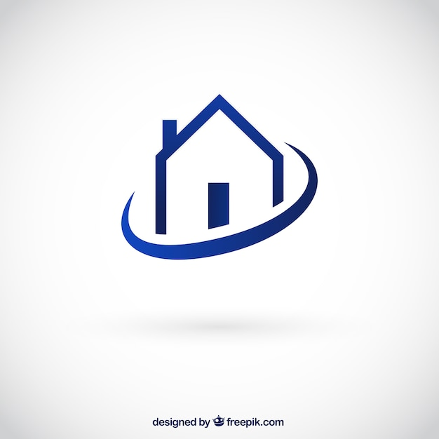 Logo de casa descargar vectores gratis for Minimalist house logo