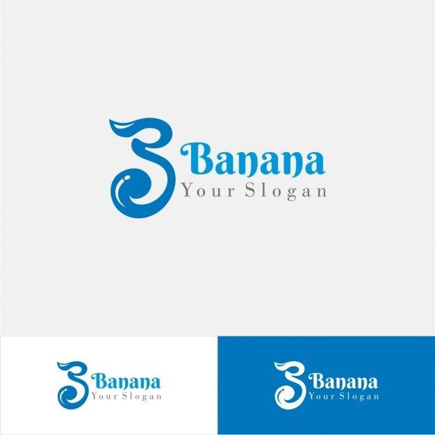 Logo de empresa en color azul descargar vectores gratis for Logo de empresa gratis
