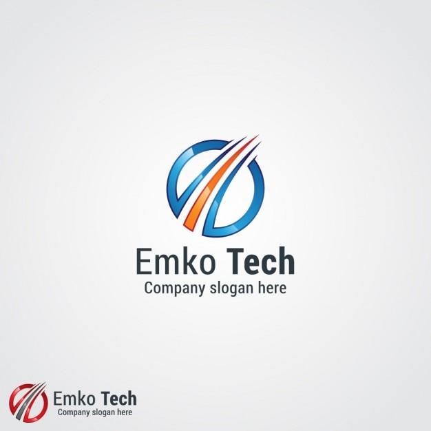 Logo de empresa tecnol gica descargar vectores gratis for Logo de empresa gratis