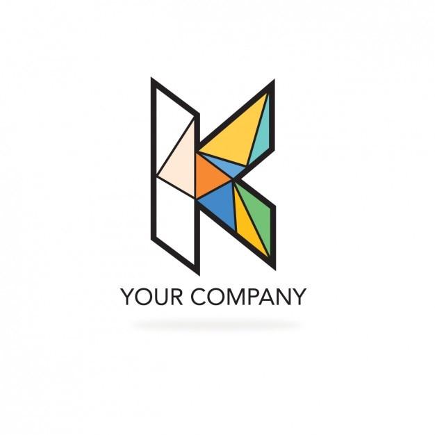 Logo de formas poligonales para empresa descargar for Logo de empresa gratis