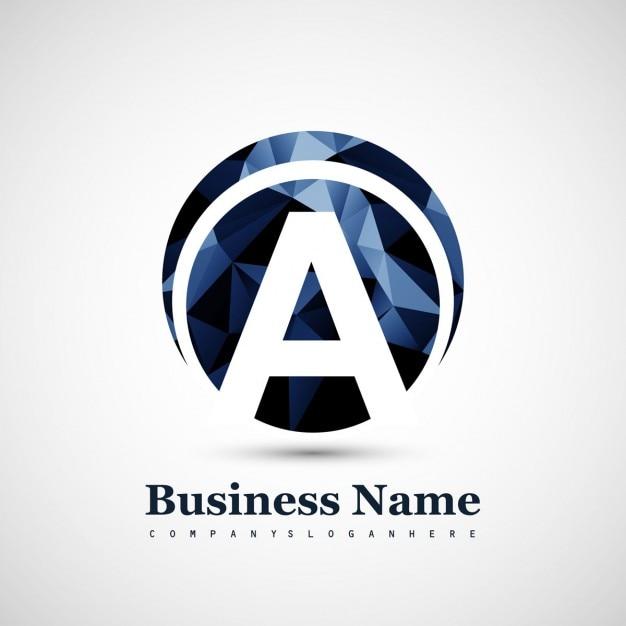 Logo de letra a descargar vectores gratis for Logos con letras