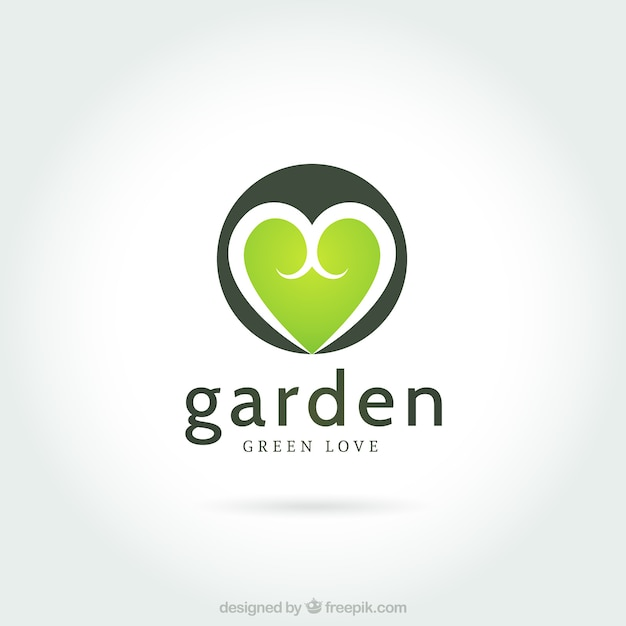 Logo jard n descargar vectores premium for Jardin logo