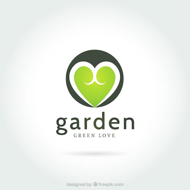 Logo jard n descargar vectores premium for Logo jardin