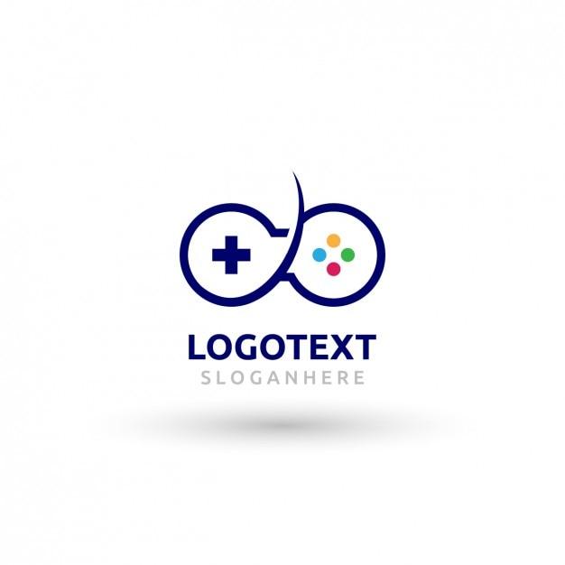 Logo De Mando De Videojuegos Antiguo Descargar Vectores Gratis