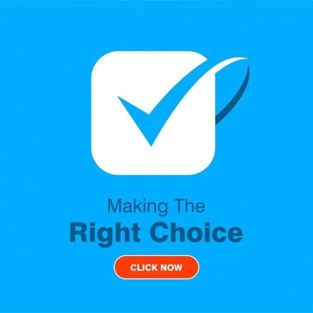 Logo de negocios azul vector gratuito