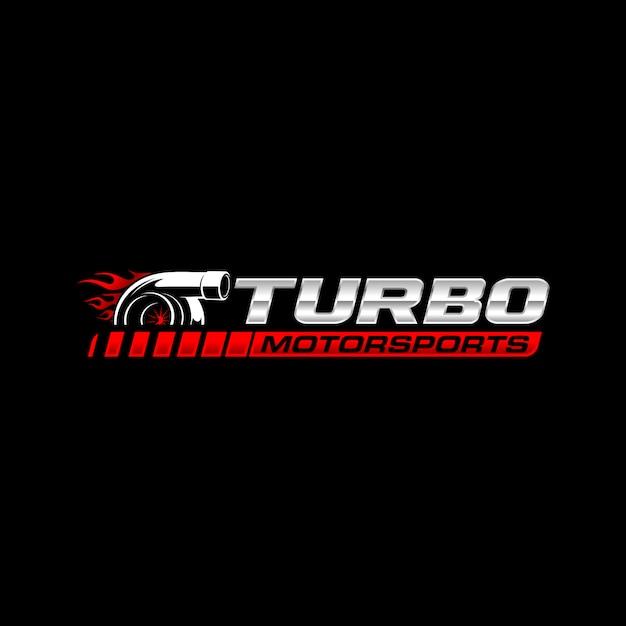 Logo turbo Vector Premium