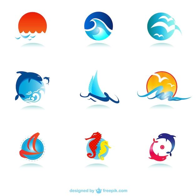 Logos marinos descargar vectores gratis for Design logo gratis