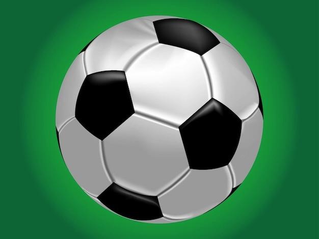 Logotipo del balón de fútbol realista  29acf2158f12a