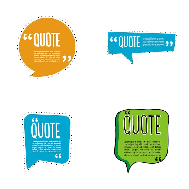 Logotipo de burbuja de chat de cita | Descargar Vectores Premium