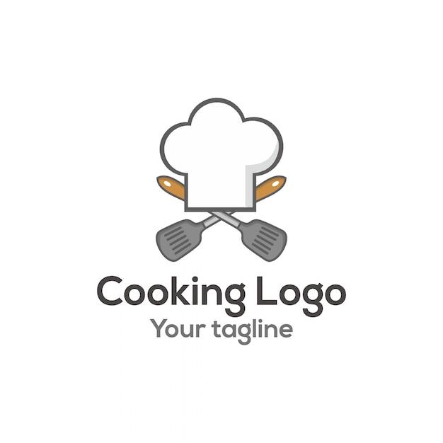 Logotipo de cocina descargar vectores premium for Utensilios de cocina logo