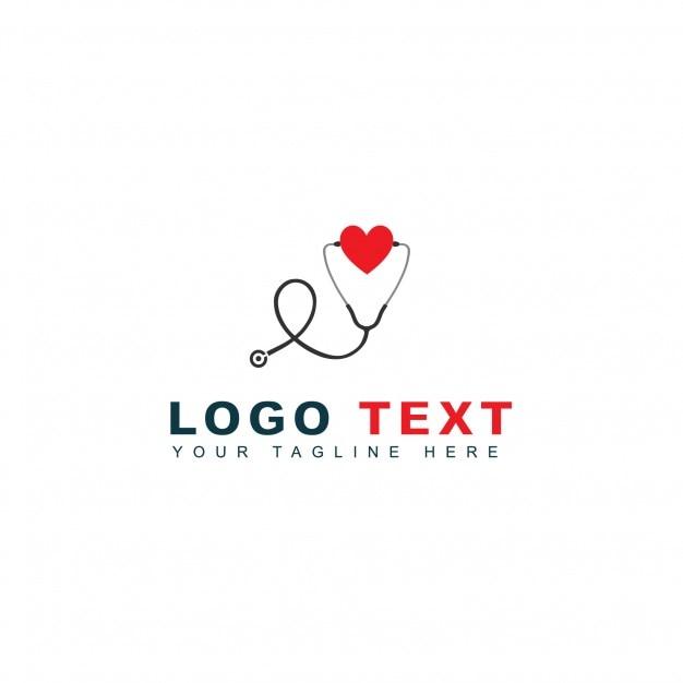 Logotipo de cuidado y emergencia Vector Gratis