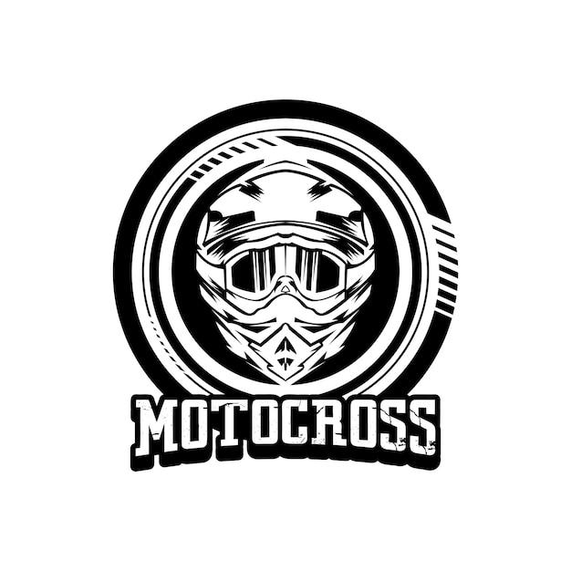 Logotipo De Dise 241 O De Motocross De Casco Descargar