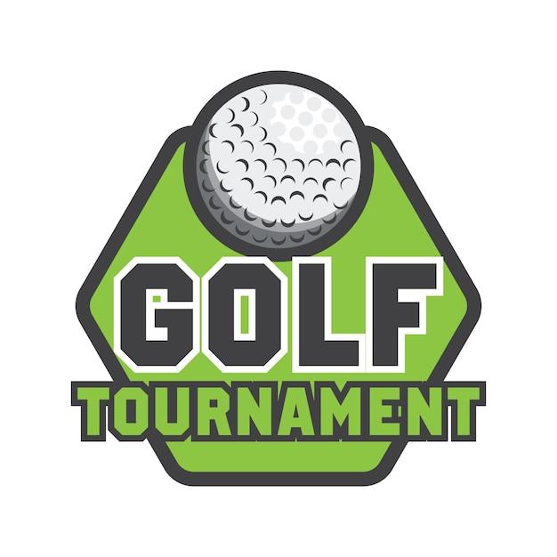 Logotipo de golf con espacio de texto para su lema | Descargar ...