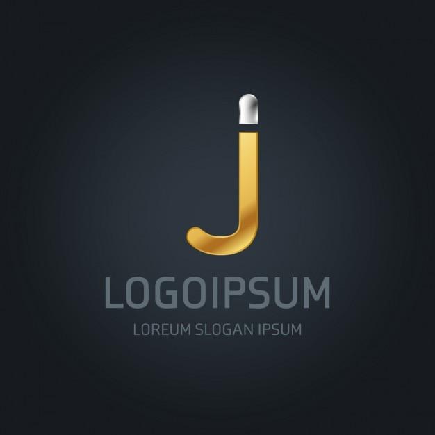 Logotipo de lujo con la letra j descargar vectores gratis for Logos con letras