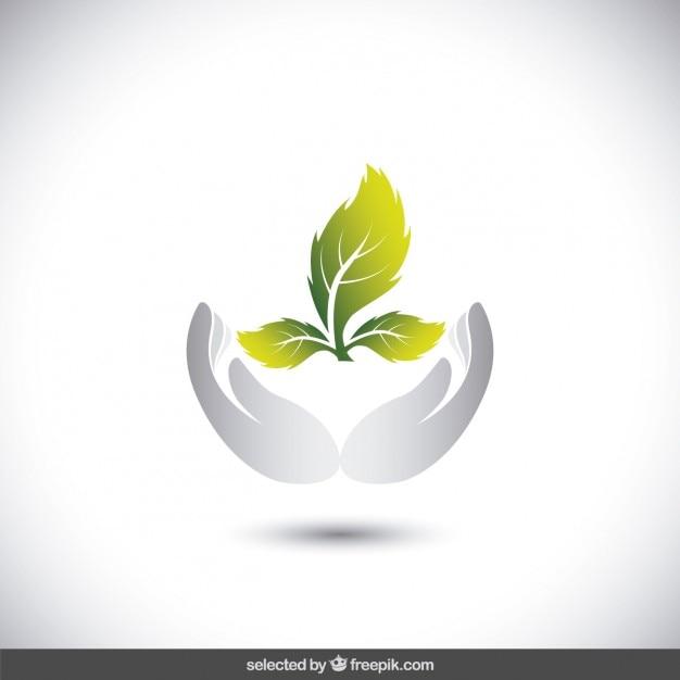 logotipo de protege el medio ambiente descargar vectores