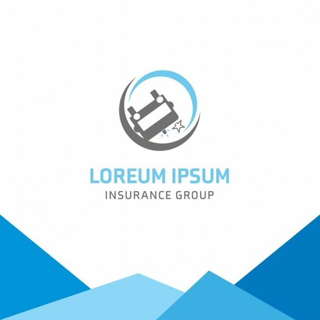 Logotipo de seguros del coche descargar vectores gratis - Seguros de coche por meses ...