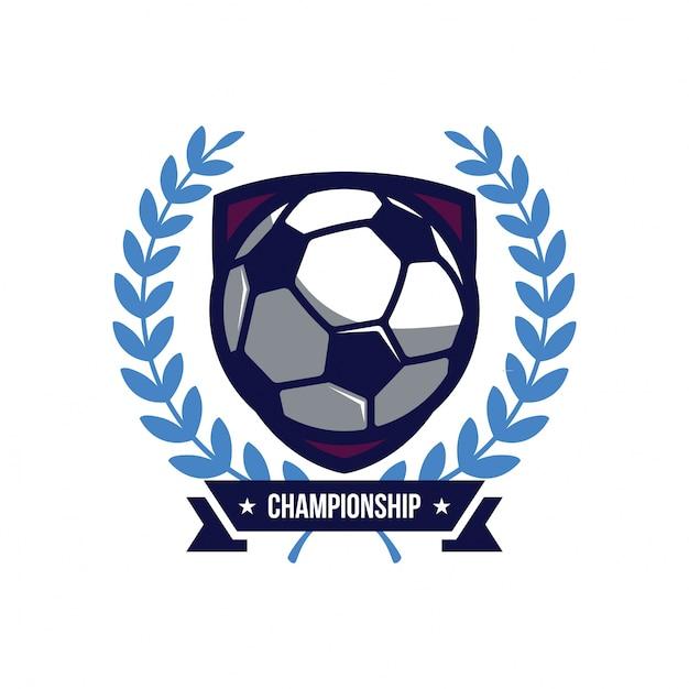bb49c242439e6 Logotipo de fútbol