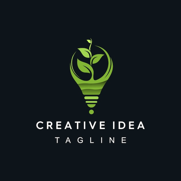 Logotipo de idea creativa Vector Premium