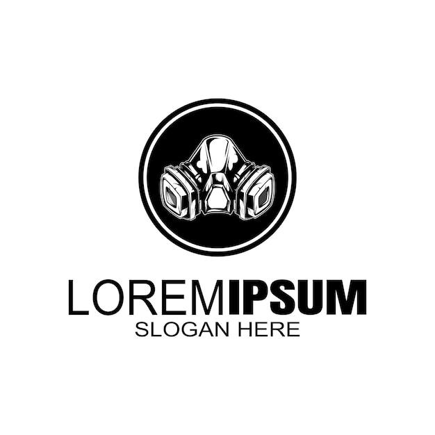 Logotipo de la máscara logotipo creativo Vector Premium