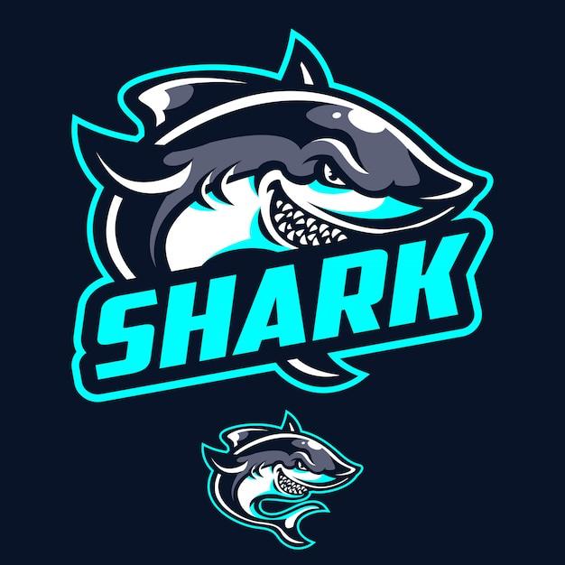 Logotipo moderno del tiburón deportivo.  90da2dc3a4fd8