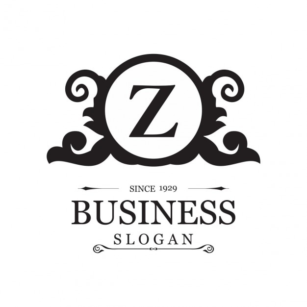 Logotipo ornamental para negocios con la letra z for Logos con letras