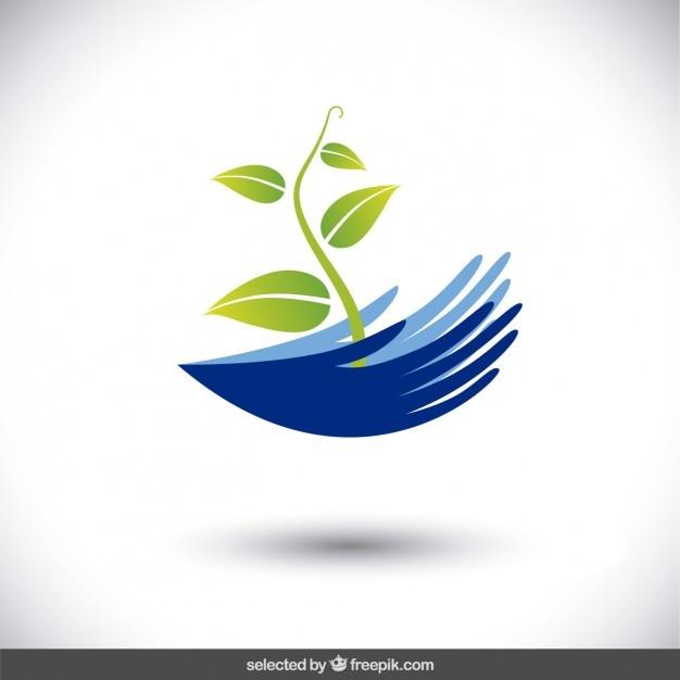 logotipo que protege el medio ambiente descargar