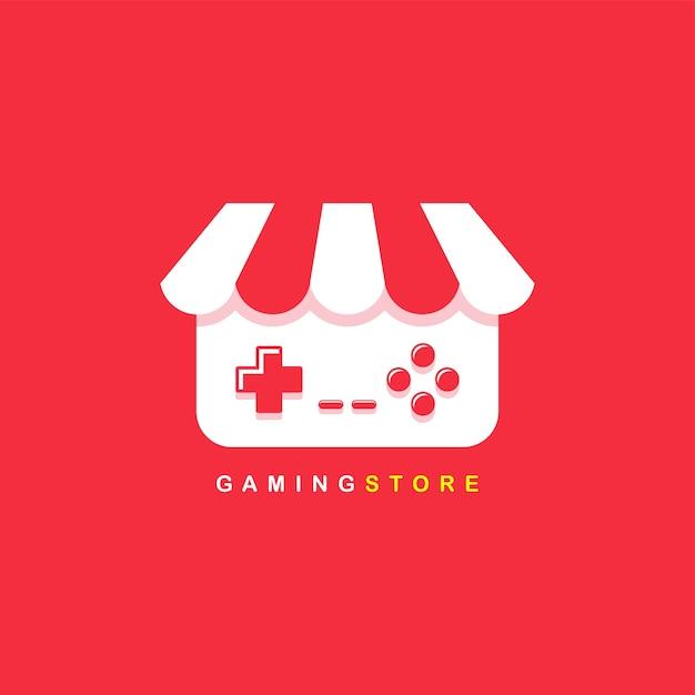 Logotipo De La Tienda De Videojuegos Descargar Vectores Premium