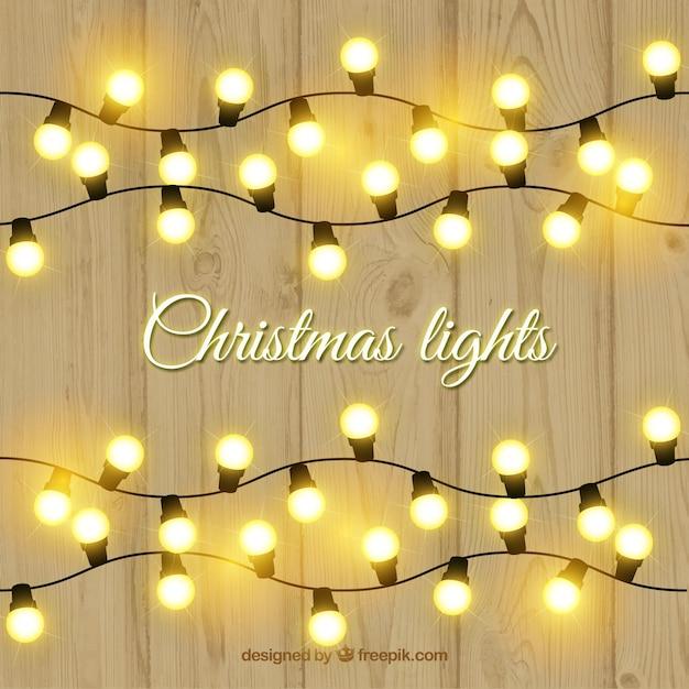 White Christmas Light Strands