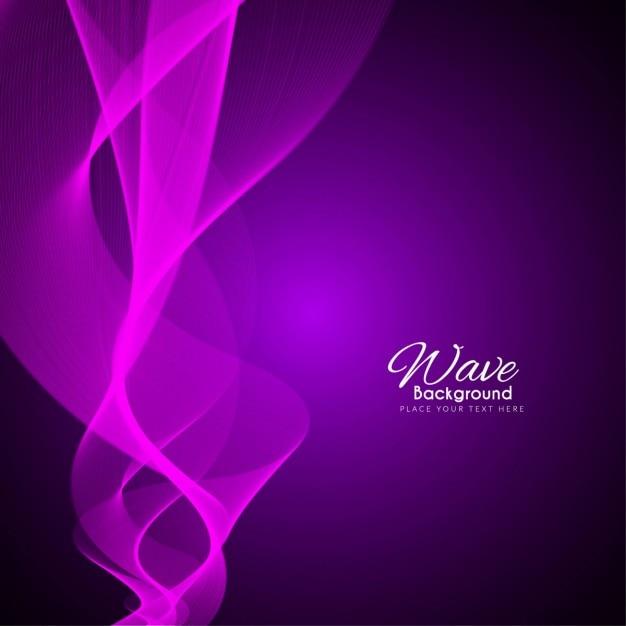 Luminoso fondo abstracto con formas onduladas, color púrpura ...