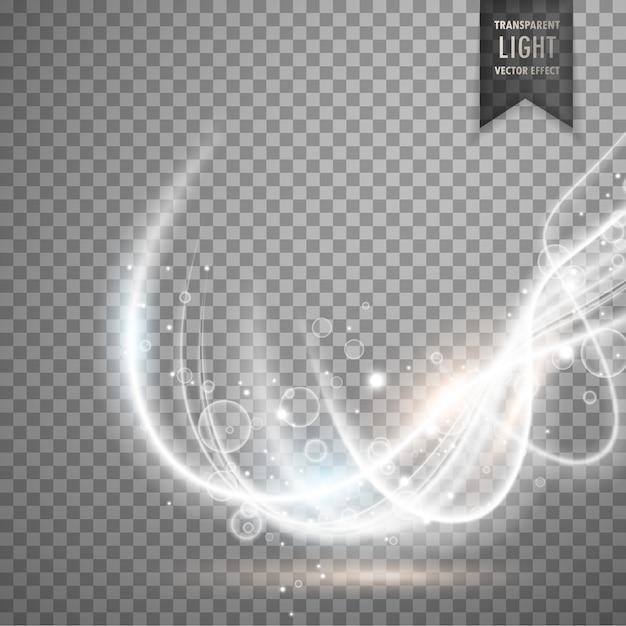 Luz Blanca Con Formas Onduladas Descargar Vectores Gratis