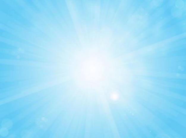 Luz Brillante Con Rayos De Color Azul Celeste De Fondo Vector - Color-azul-celeste