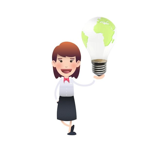 Luz Eléctrica Responsabilidad De Dibujos Animados Resumen