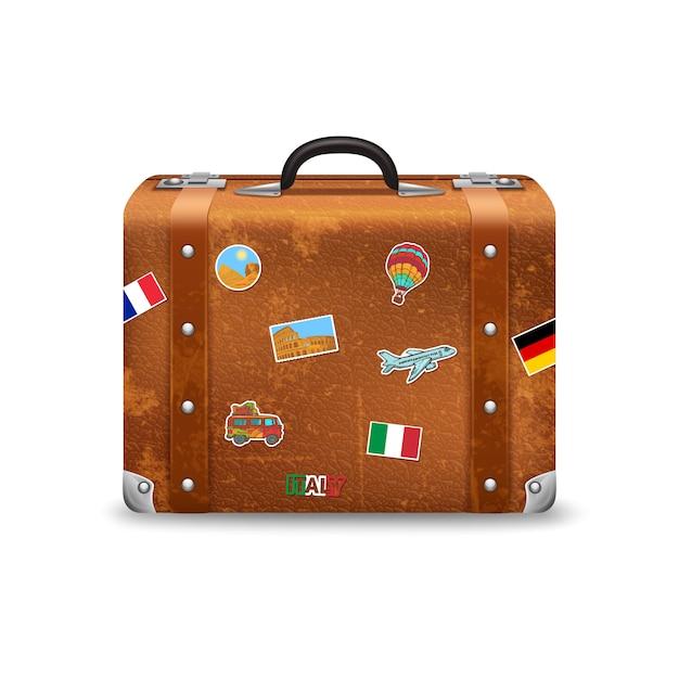 55 Retro Vintage Antigua Estilo maletas de viaje Pegatinas caliente ukgrl