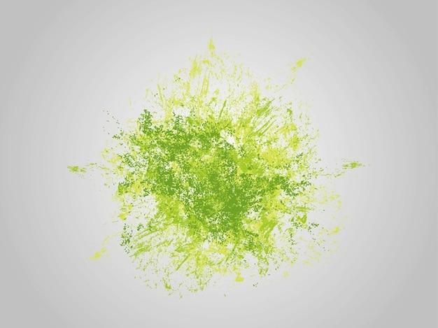 Manchas de pintura en tonos verdes descargar vectores gratis - Tonos de pintura ...