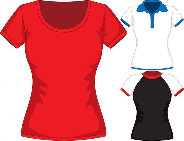 Maqueta de camiseta Vector Premium