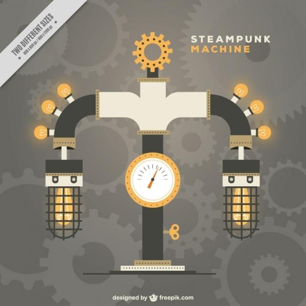 M 225 Quina Steampunk Descargar Vectores Gratis
