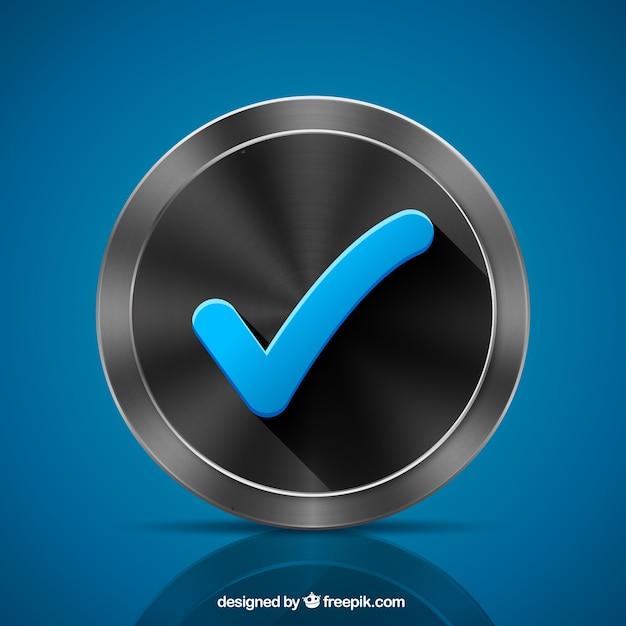Marca de verificación vector gratuito