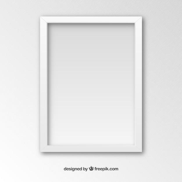 Marco blanco | Descargar Vectores gratis